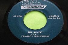 Rare Latin Cha Cha Cha 45 : Fajardo Y Sus Estrellas ~ Sirena 033