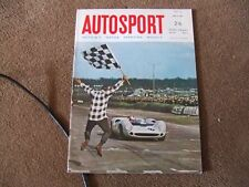Autosport 8 July 1966 Rallye Vltava Alfa Giulia SS F2 Rheims French GP Goodwood