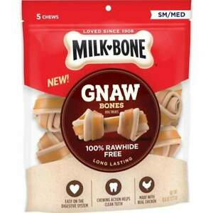 Milk-Bone Chicken Knotted Bone Dog Treats Small/ Medium