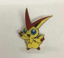Pokemon Victini Enamel Pin Badge TCG Collection Mythical PROMO