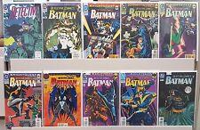 Detective Comics #649 666 669 671 672 674 675 676 677 688 - ALL NM - CGC READY