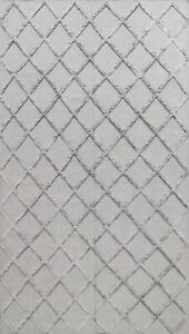 Modern Kilim-Trellis Oriental Hand-woven Area Rug Contemporary Home Decor 6'x9'