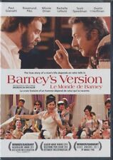 Barney's Version (DVD, 2011, Canadian, Widescreen) BRAND NEW