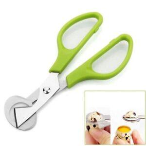 Egg Quail Scissors Cutter Stainless Shell Steel Opener Cracker Kitchen Eggshell
