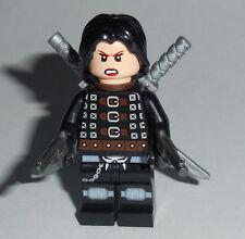 MOVIE #01 Lego Resident Evil Alice w/accs Custom NEW Zomibe Genuine Lego parts