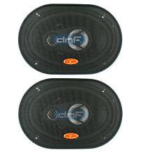 """DNF (1 Pair) 3 Way 6"""" x 9"""" Speakers 320 Watts Maximum Power - SAME DAY SHIPPING!"""