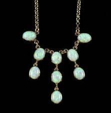 Opalite Yellow Gold Fine Necklaces & Pendants
