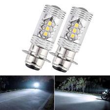 2x H6 2835 SMD 6000k LED Headlight White Light Bulb For Motorcycle ATV Yamaha US