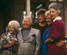 The Golden Girls UNSIGNED photograph - N1278 - With Mickey Rooney - NEW IMAGE!!