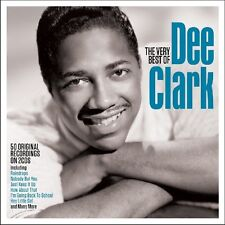 DEE CLARK - VERY BEST OF 50 ORIGINAL RECORDINGS 2 CD NEU