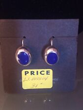 Earrings-Free Shipping Sterling Silver Lapis