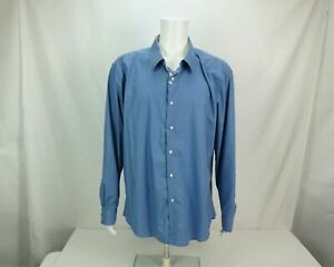 Jordan Jasper Shirt Long Sleeve Button Up Blue Men's 3XL