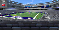(2) New York Giants PSLs (Seat License) - Lower Level Section 123