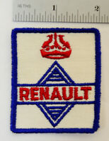 Renault Embroidered Sew On Cloth Jacket Service Patch Car Auto Hot Rat Rod Vtg