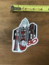 Outdoor Research Jack Card  Logo  Sticker/Decal Outdoor Clothing Approx 3x4""