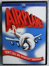 "Like New Airplane 1980 WS ""Don't Call Me Shirley"" Leslie Nielsen Robert Stack"