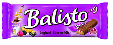 10 x BALISTO JOGHURT BEERE - 90 PIECES CANDIES SWEETS CHOCOLATE BAR FROM GERMANY