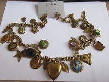 Costume Jewelry , NECKLACE  , Eclectic , Unique , Vintage , Retro ,1970s ,
