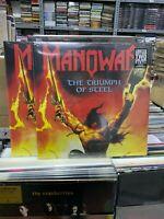 Manowar 2 LP The Triumph Of Steel Colour Vinyl Versiegelt
