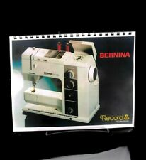 New listing Bernina 930 Record Electronic Sewing Machine Instructrions Manual User GuideCopy