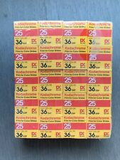 RARE! Kodak Kodachrome 25 KM 35mm Color Slide Film 36 Exp - Vintage 5073, FROZEN