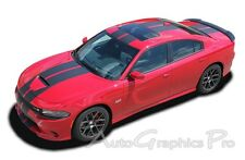 For Dodge Charger 2015 2021 Rally Racing Stripes Graphics Srt Scat Pack Hellcat