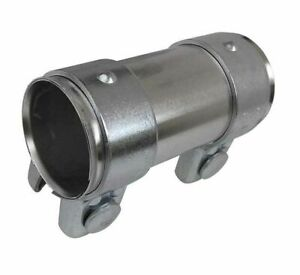 Exhaust Pipe Connector 48mm to 52.5mm x 90mm Tube Clamp Sleeve Adaptor Joint VAG