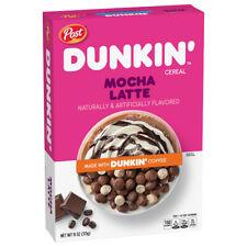 Dunkin' Mocha Latte Breakfast Cereal 11 oz
