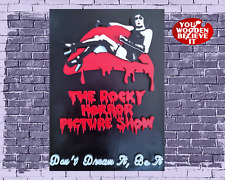 Wooden Rocky Horror Picture Show 3D Movie Poster Pop Wall Art -