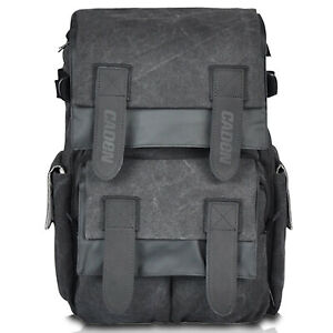 Black Waterproof Backpack Rucksack Bag For DSLR SLR Camera and Accessories