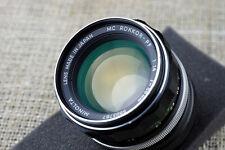 Minolta 58mm 100mm f/1.4 Lens Micro 4/3 FIT Olympus PEN E P 2 3 5 PL camera