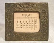 Tiffany Zodiac Bronze Calendar # 943