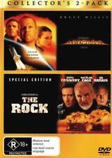 Armageddon / The Rock  - DVD - NEW Region 4