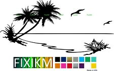 22in Palm Trees vinyl decal sticker for any car, truck, van, rv, trailer, wall