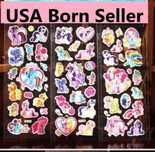 10 sheets Party loot goody bag favors VINYL puffy stickers MY LITTLE  PONY