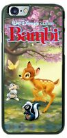 Disney Bambi Thumper Flower Phone Case Cover Fits iPhone Samsung Google Moto etc
