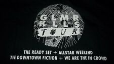 Pop Punk Rock Group We are in the Crowd GLAMOUR KILLS CONCERT T-Shirt Medium