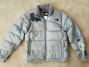 The North Face Women's Size S Small Flower Nuptse Jacket Coat 700 Down Puffer