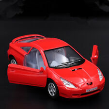 Toyota Celica 1:36 Model Cars Toys Alloy Diecast Open two doors Collection Red