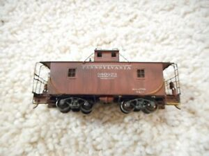 HO SCALE BRASS UNKNOWN MANUFACTURE PENNSYLVANIA WOOD CABOOSE