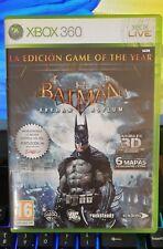 Juego Xbox 360 Batman Arkham Asylum Castellano