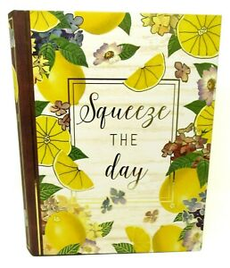 Pooch & Sweetheart Nesting Book Box Lemon Squeeze 81244 X-Large Punch Studio