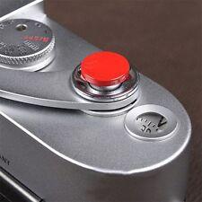 1Pcs Red Metal Soft Shutter Release Button for Fujifilm X100 SLR Camera EW