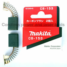 Makita LS1216 LS1216L Saw CB153 Carbon Brushes Genuine Original Part 181044-0