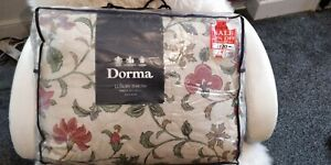 DORMA THROW SUPER LUXURY BED COVER THROW, BEAUTIFUL QUALITY COST £130 NEW