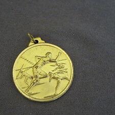 880B Médaille Laiton Sport Gymnastique A.P.S. 1991