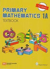 Singapore Math® Primary Mathematics 1A Textbook US Edition - New