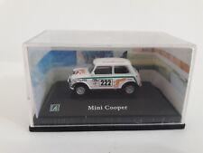 ESP306  1/72COCHE CAR MINI COOPER RALLIE #222 HONGWELL CARARAMA