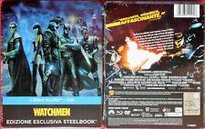 film movie watchmen steelbook metalbox new 2 blu-ray disc + 1 dvd carla gugino v