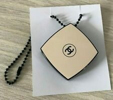 Chanel Mirror charm on chain compact new rare Vip Gift
